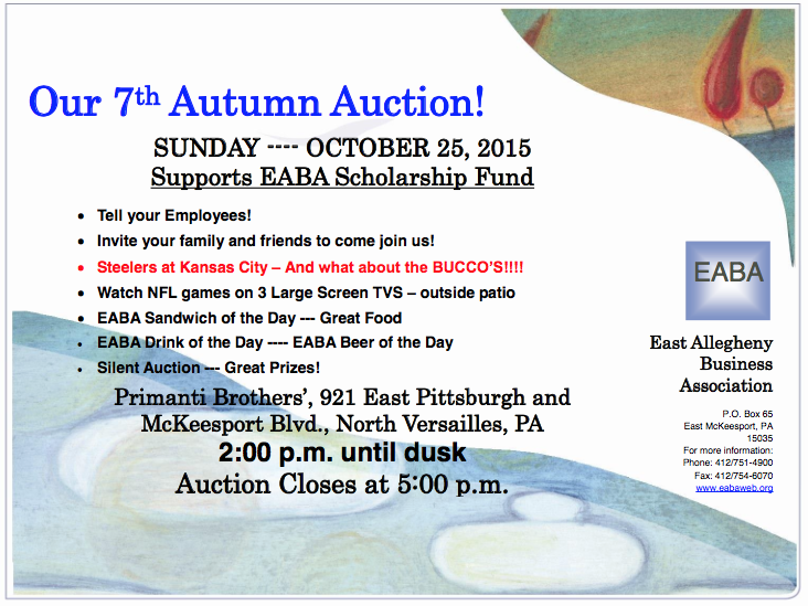 EABA 2015 Autumn Auction